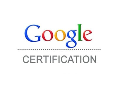 Google Certification Course Exam