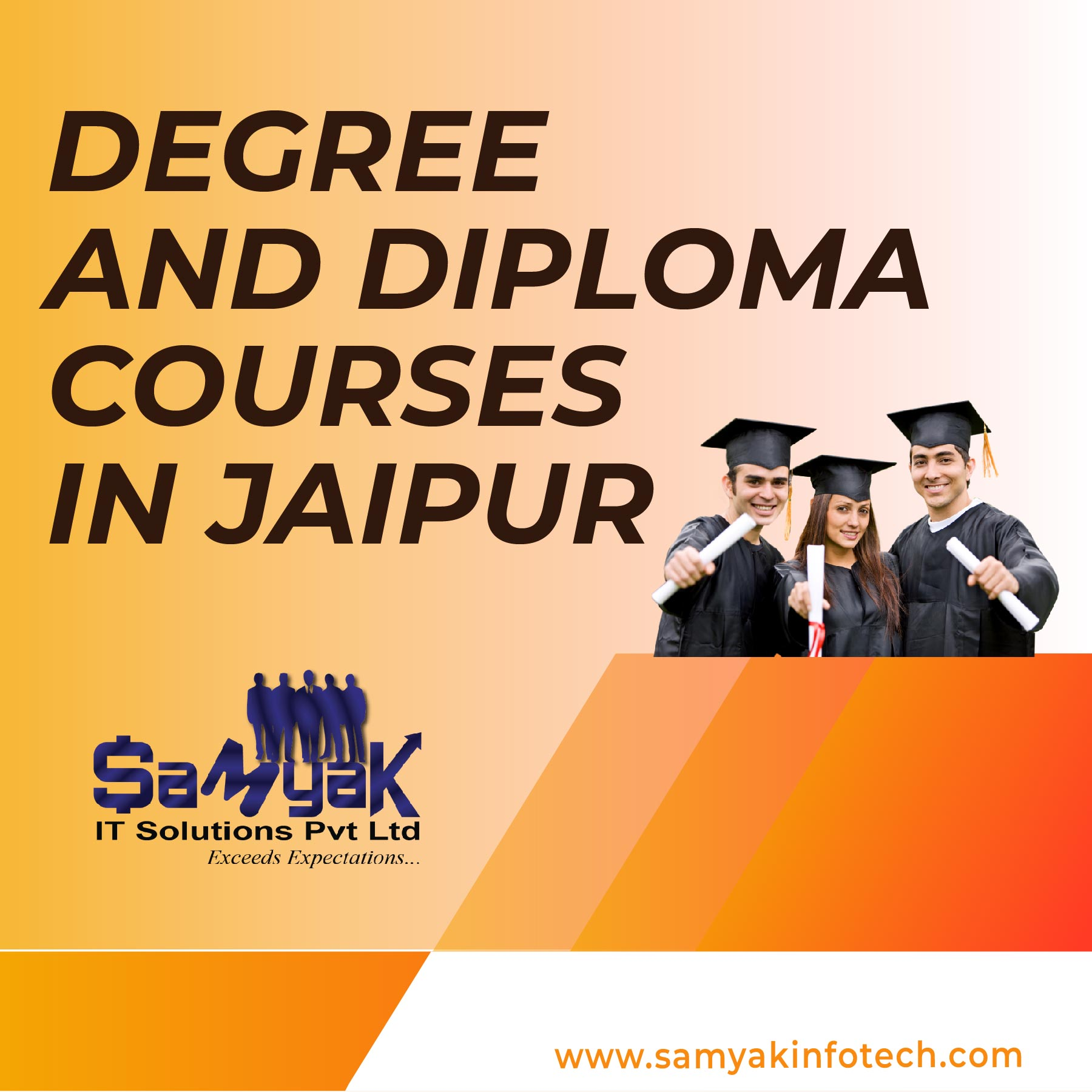 Degree And Diploma Programs Gurgaon, Ahmedabad, Jaipur