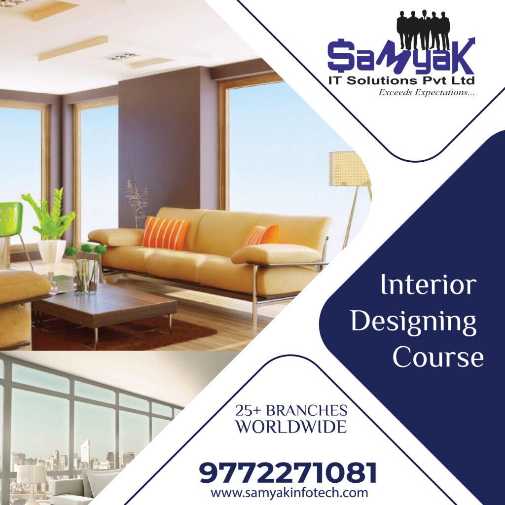 3 Months Interior Designing Courses Training Jaipur Ajmer